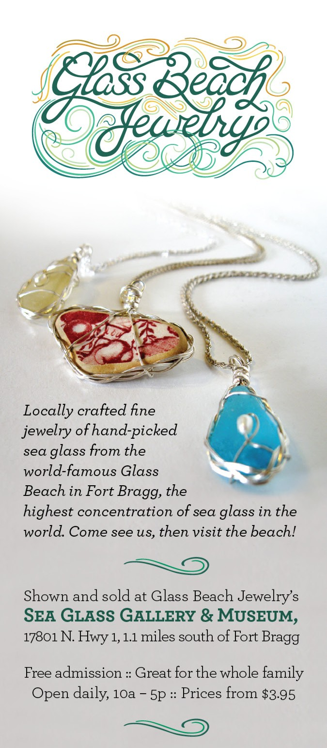Sea Glass Jewelry, Gallery & Museum  Capt  Cass' Handcrafted
